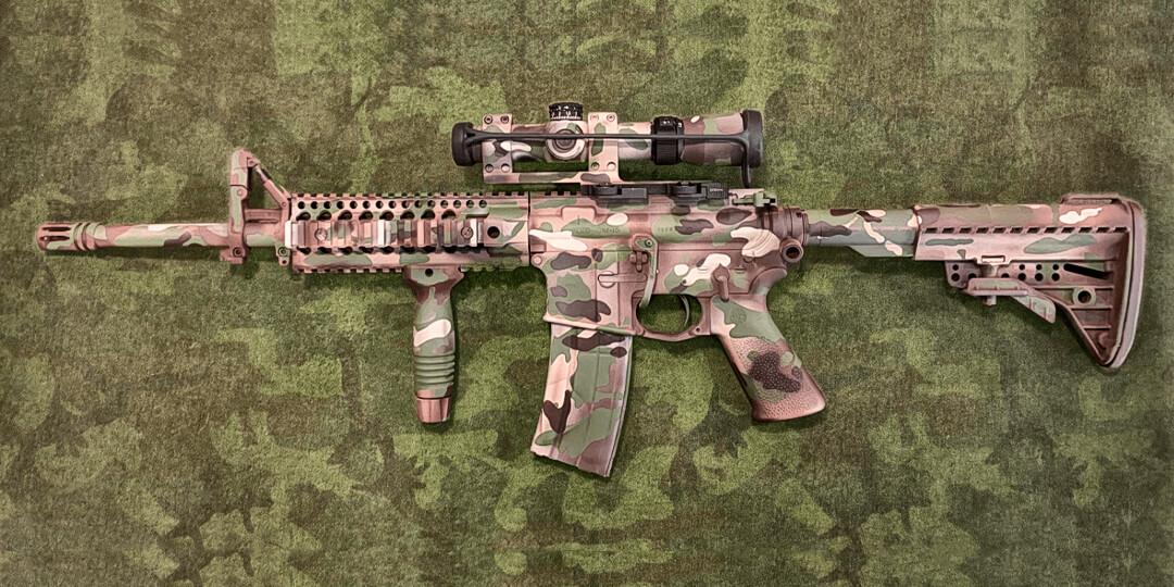 Покраска оружия