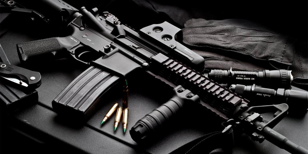 Новое поступление оружия и патронов.