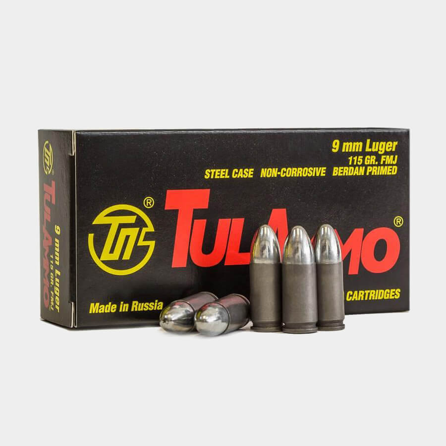 Патрон TULAMMO 9mm Luger (1 шт)
